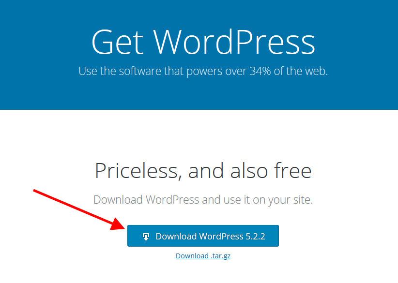 Download Latest WordPress