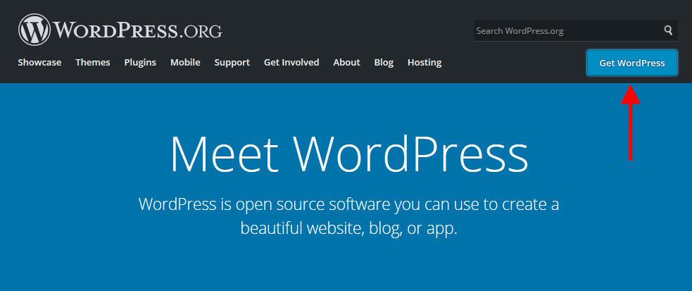Get Started WordPress